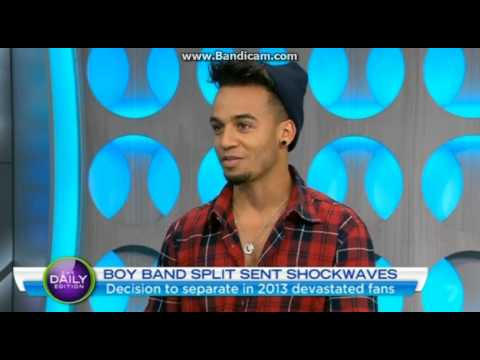 Aston Merrygold Interview in Australia - The Daily Edition