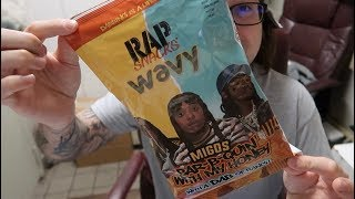 Rap Snacks Review, MIGOS BarB Quin' with My Honey Wavy Potato Chips