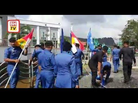 MBKT turunkan 1,000 bendera parti politik