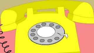 When My Phone Says Ring Ring Ring | Popular Nursery Rhymes For Children | Best Songs For Kids