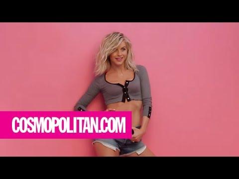 Julianne Hough   Behind the Scenes   Cosmopolitan