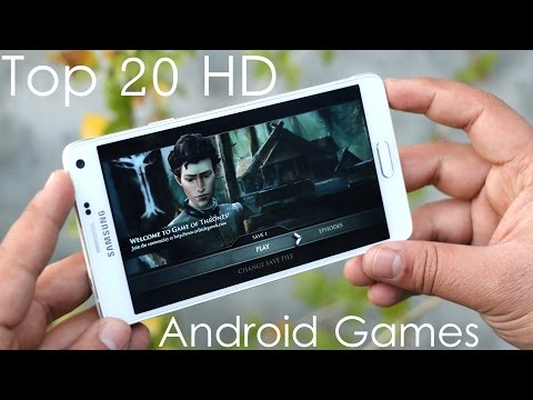 Top 20 Best HD Android Games