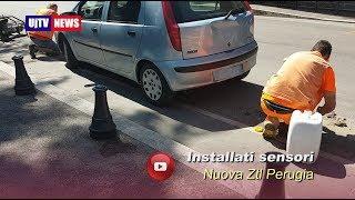 Installati sensori per auto, nuova ztl a Perugia