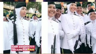 (Part 2) Scene2 Lucu Janna Nick Jalan Macam 'Robot' Semasa Di Tabalkan Sebagai 'Leftenan Zana'