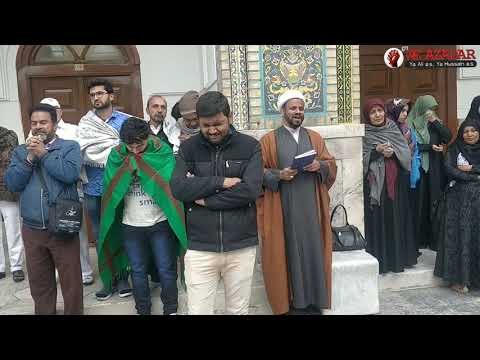 Ziyarat Imame Reza as| Shaban 2019| Ghareebetoos Tour |Rizwan Haider Sahb