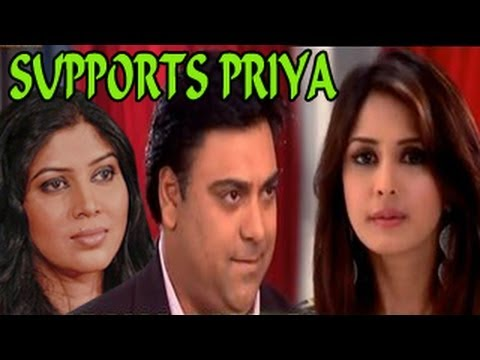 SHOCKER !! Ram SUPPORTS Priya AGAINST Ayesha in Bade Acche Lagte Hain 5th September 2012