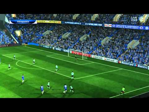 UEFA Champions League: FC Chelsea vs. FC Barcelona | 18.04.2012 || PES 2012 HD