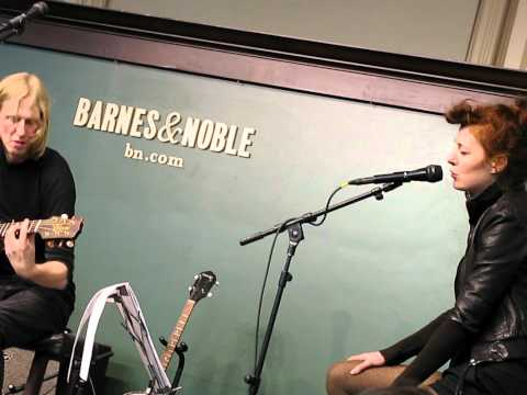 ERIC ERLANDSON + MELISSA AUF DER MAUR Seasons In The Sun BARNES & NOBLE NYC April 5 2012