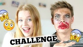 BLIND SCHMINKEN CHALLENGE mit Joeys Jungle