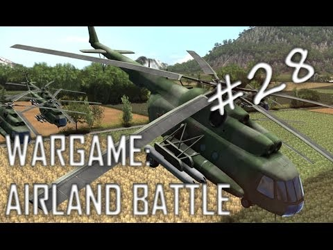Wargame: Airland Battle Gameplay #28 (Hamar, 2v2)