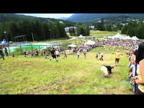 2011 Canadian Cheese Rolling Video
