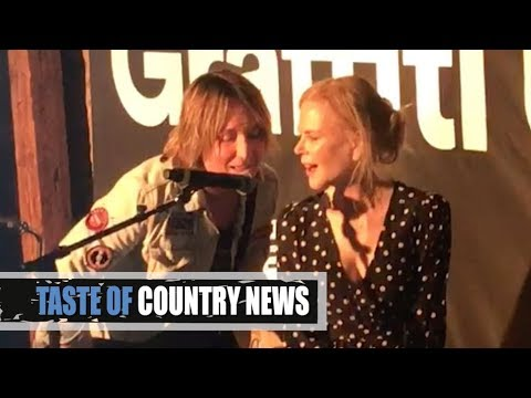 Keith Urban Singing with Nicole Kidman is Totally Adorable