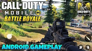 CALL OF DUTY MOBILE BATTLE ROYALE - ANDROID GAMEPLAY