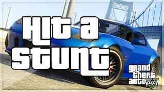 GTA 5 HIT A STUNT MONTAGE!