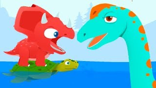 Dinosaur Park - Baby Explore Jurassic World - Dinosaur Fun Educational Game For Kids