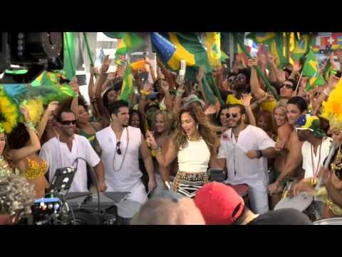 Pitbull - We Are One (Ole Ola) [feat. Jennifer Lopez & Cláudia Leitte] (Behind the Scenes)