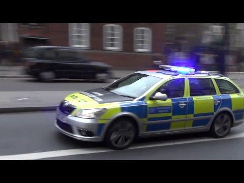 London Police Skoda Octavia VRS ANPR Interceptor Team
