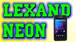 Бюджетный смартфон Lexand Neon обзор.