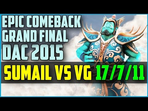 EG.SumaiL epic comeback Storm Spirit vs VG @ DAC Grand Final