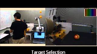 Interactive teleoperation interface for semi-autonomous control of robot arms