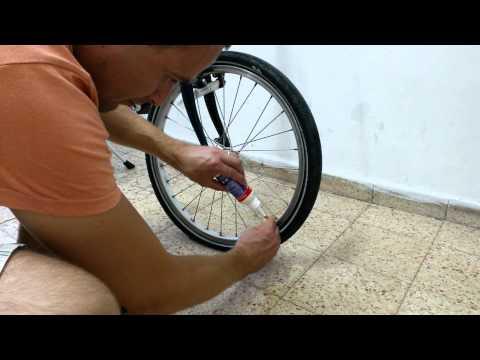 Установить камеру в колесо