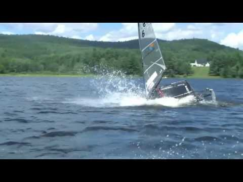 Moth Sailing - Foil Breaks