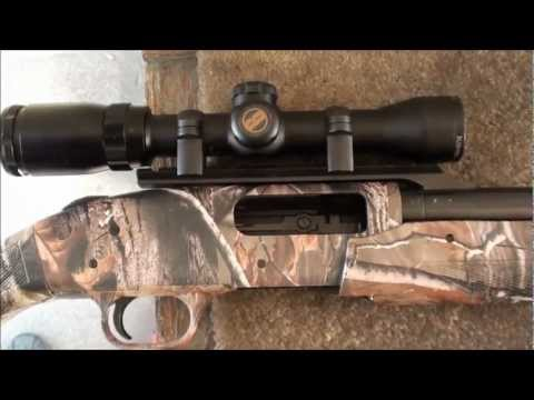 Rifled Slug Barrel on the Mossberg Camo 500 Range Review