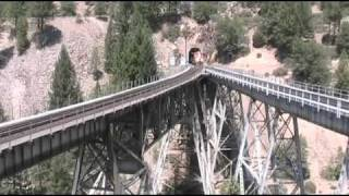 The Amazing Feather River Railroads-see the Seven Railroad Wonders of the World!