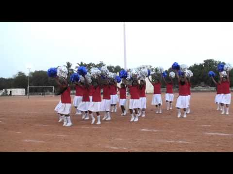 Santa Maria School, Trichy, 2013 -14 Sports Cheer leaders - 08/03/2013