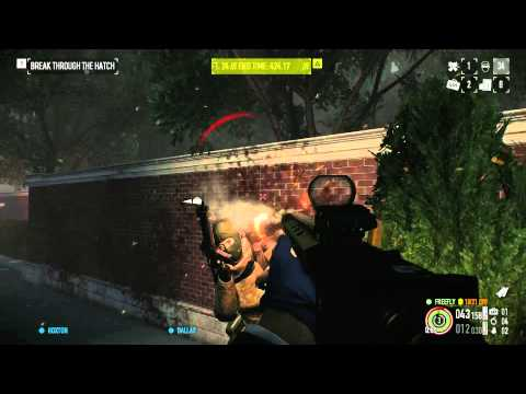 Payday 2 - Hotline Miami Day 1 Deathwish Solo video