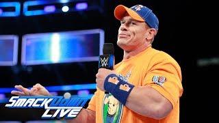 John Cena calls out Baron Corbin SmackDown LIVE Aug 8 2017