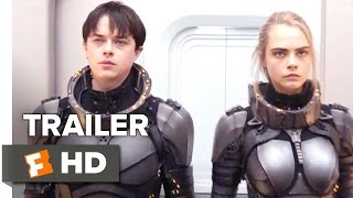 Valerian and the City of a Thousand Planets Official Trailer  Teaser 2017  Movie