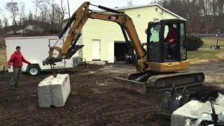 Ultimate Mini Excavator challenge Kubota U55 vs CAT 305  STRENGTH TEST -