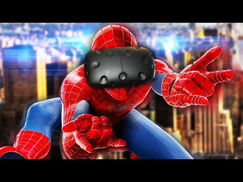 SPIDER-MAN VR! | Spider-Man Homecoming VR Experience (HTC Vive)