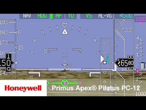Pilot Training Video: Honeywell Primus Apex® Pilatus PC-12 NG Vertical Glide Path (VGP)