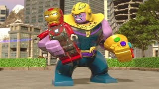 Special Team-Up Moves With Thanos - LEGO Marvel Super Heroes 2 (Avengers: Infinity War DLC)