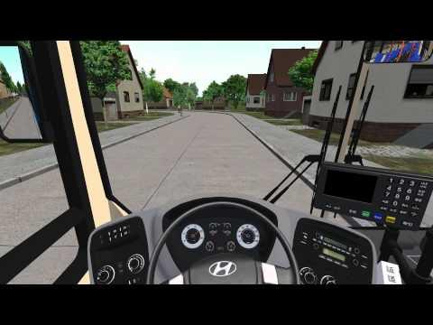 [OMSI2]Korea Hyundai Bus - New Super Aero City Beta 0.4 (groundof 76)