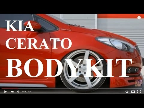 New Kia K3 Cerato Forte 2014 Modified Bodykit