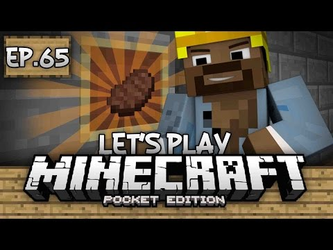 Survival Let's Play Ep. 65 - AUTO COOKER 9000!!! REDSTONE BUILD!!! - Minecraft PE (Pocket Edition)