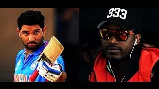 Yuvraj Singh's challenge to Gayle, AB de Villiers: Score fifty in 10 balls!