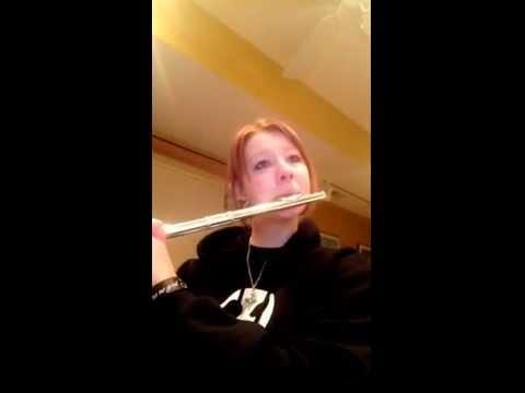 Monochrome No Kiss Flute Cover video