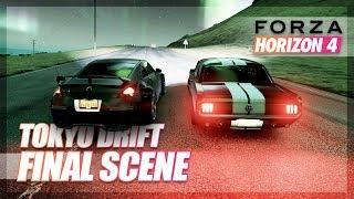 Forza Horizon 4 - Tokyo Drift Recreation in FORTUNE ISLAND! (Final Scene)