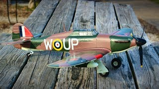 RC Hawker Hurricane British Combat Airplane Fighter - 014B Fixed Wing Aircraft - TheRcSaylors