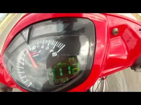 zacxanthi Yamaha Crypton X 135cc accel - top speed