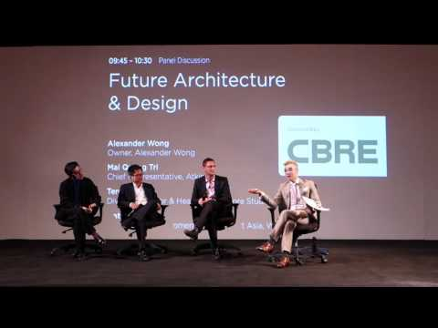 Future Architecture Panel Discussion at Asia Pacific Propert