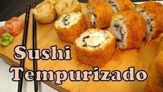 Receta de Sushi Tempura ★