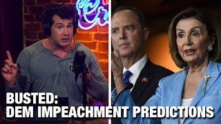 BUSTED: Left's Impeachment Predictions | Louder with Crowder