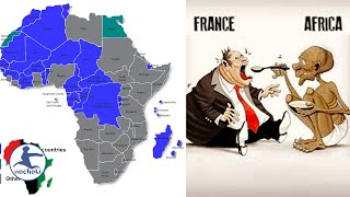 France is Still Colonizing Almost Half of Africa Today