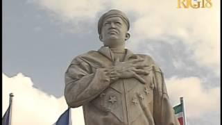 Haïti.- Inauguration place Hugo Chavez