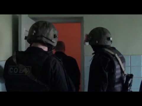 Оперативное видео освобождения заложников в Ижевске